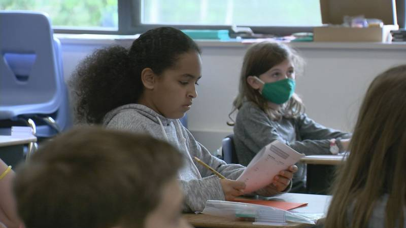 Some school districts may require face masks for students during the 2021-22 school year.