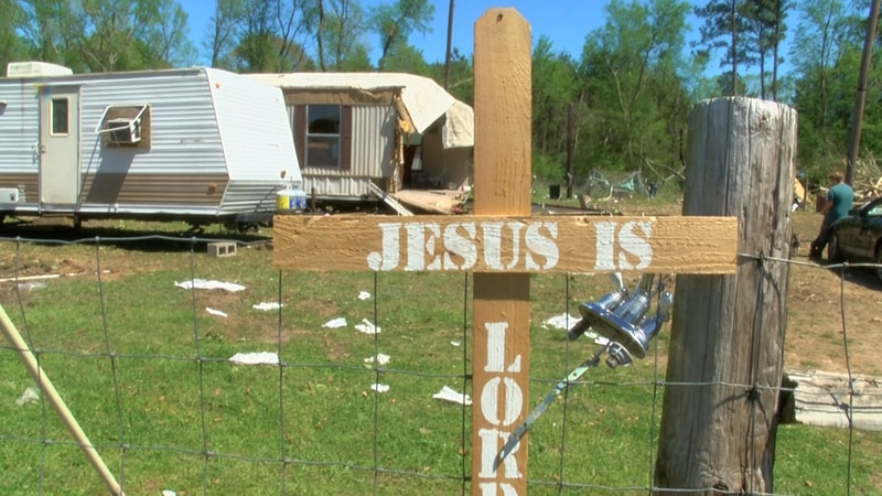 Deadwood, a small community east of Carthage, is picking up the pieces after a reported EF-2...