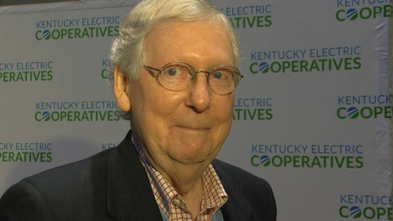Senator Mitch McConnell was in Louisville Monday to receive the Distinguished Rural Kentuckian...