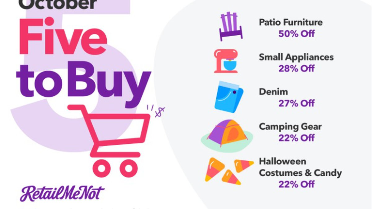 If you missed out on Amazon Prime Day, Walmart's Big Save or Target's Deal Days, RetailMeNot...
