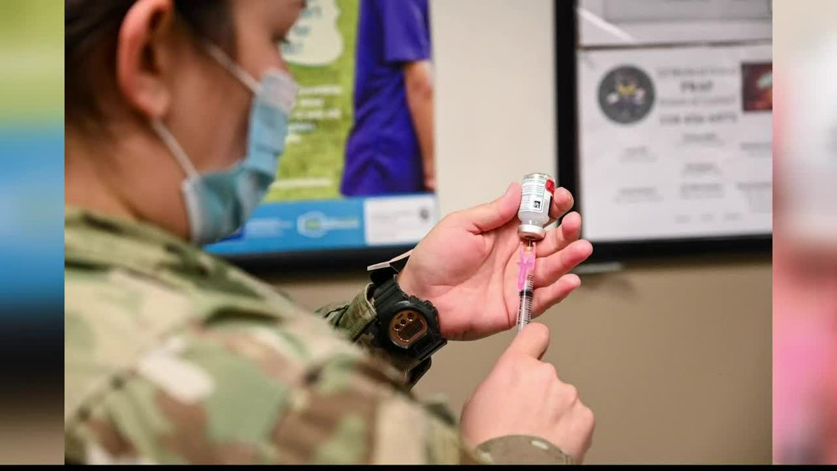 Barksdale explains how its administering COVID-19 vaccine to base personnel