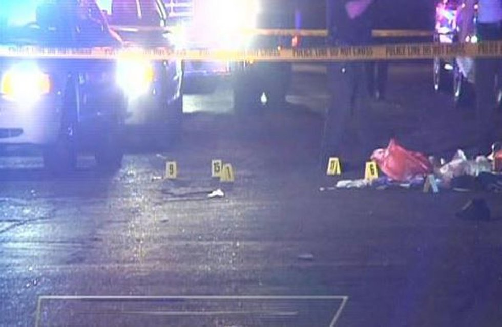 More than a dozen shots were fired in the shooting death of 20-year-old Prentiss Britton...