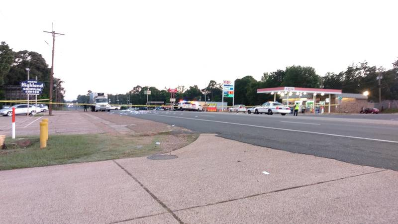 Officers got the call just after 6 a.m. to N. Market Street between Booth Drive and Deer Park...