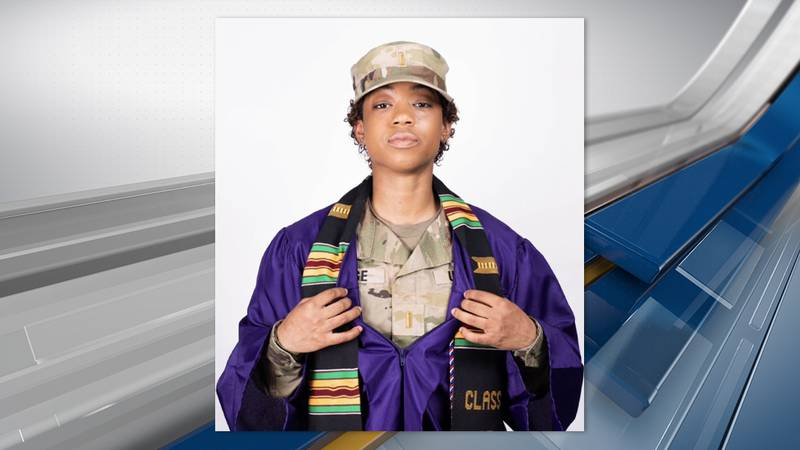 2nd. Lt. Meya Morse, is the first female Armor officer from Northwestern State University.