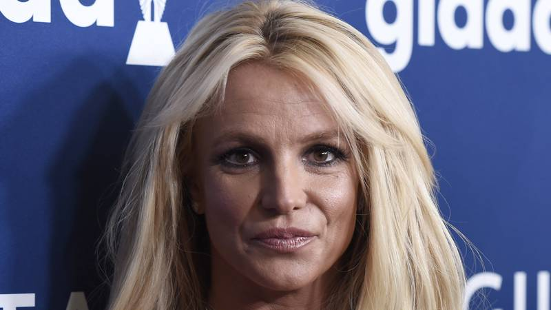 Britney Spears arrives at the 29th annual GLAAD Media Awards on April 12, 2018, in Beverly...