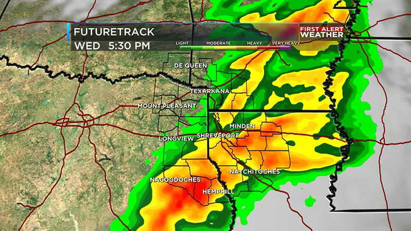 Cold front brings back rain and storms mid week