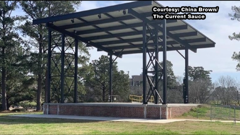 The University Louisiana System board members have approved naming the stage pictured above...