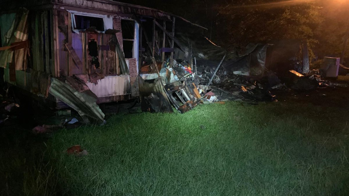 Bethany mobile home fire claims one life.