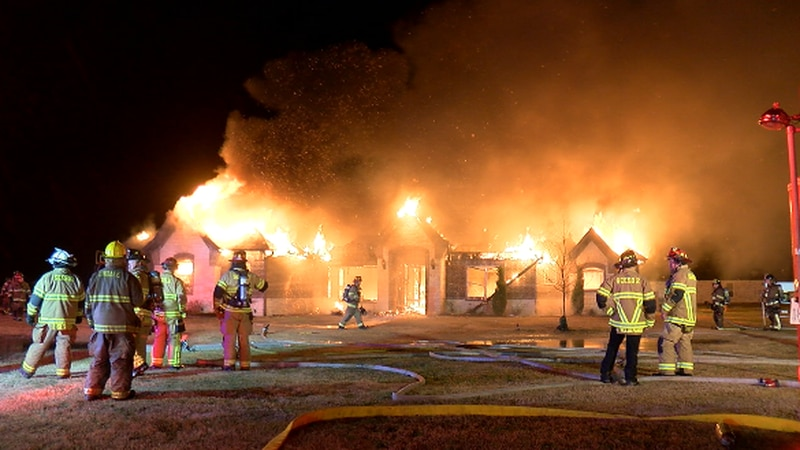 Lindale house fire