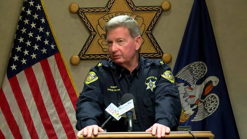 Caddo Sheriff Steve Prator talks about criminal justice and the suspect accused of killing a...