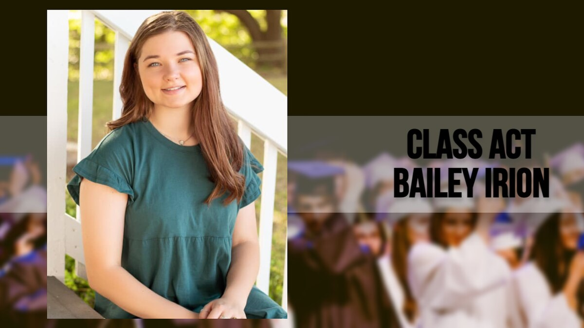 Bailey, after graduating valedictorian of her class, plans to go into the United States Air...