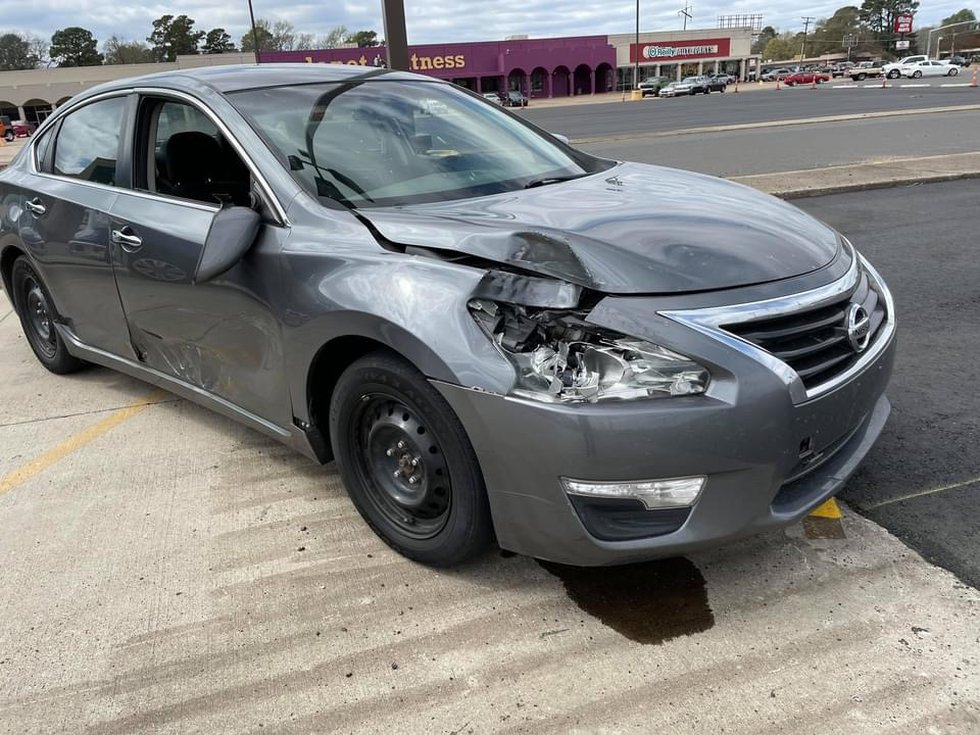 Alleged car involved in hit-and-run.
