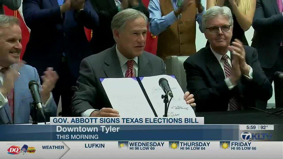 Abbott Signs Bill
