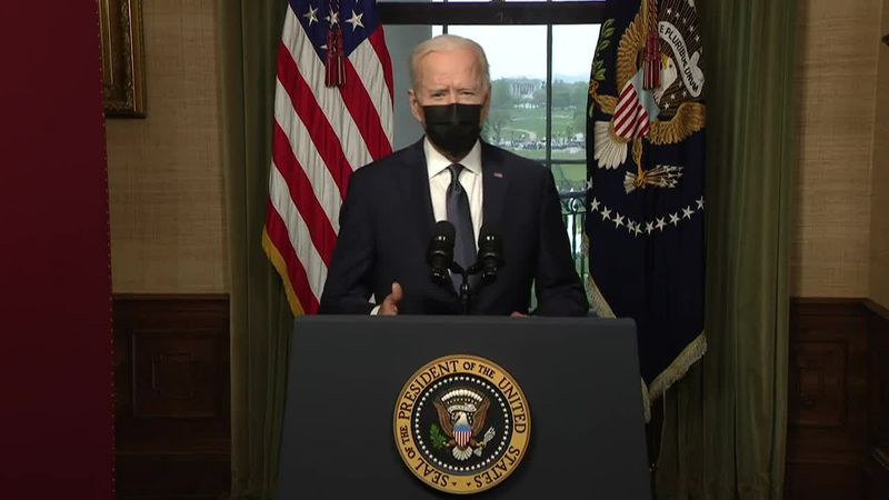 President Biden plans US troops withdrawal from Afghanistan by Sept. 11