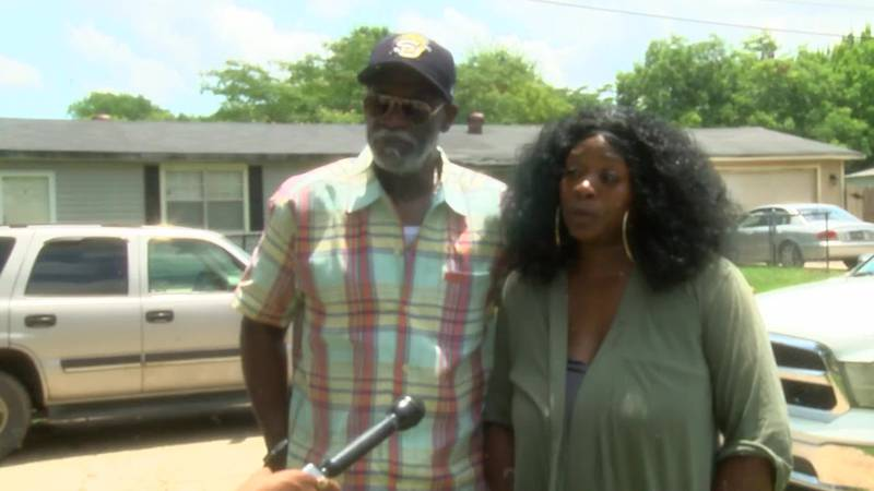 RAW INTERVIEW: Marvette Little, Shamia Little's mother, and Lester Smith, of Mooretown...