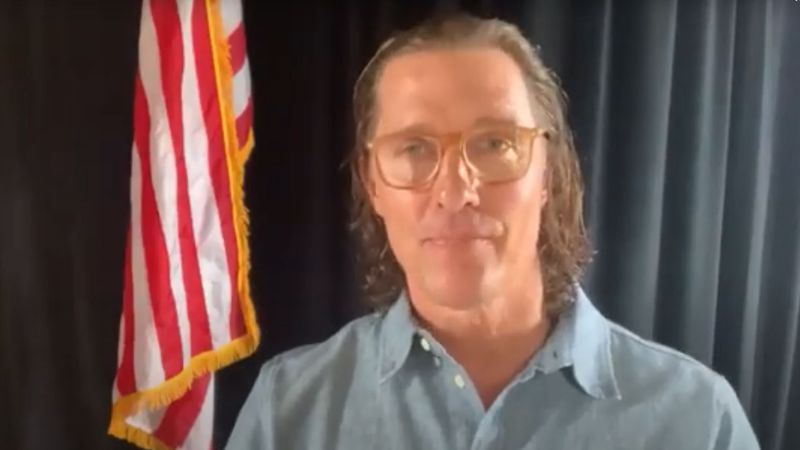 Actor Matthew McConaughey, a Longview native, announced that he is organizing a virtual benefit...