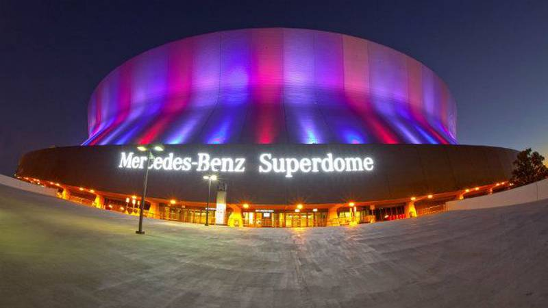 The Mercedes-Benz Superdome (Source: John Snell)