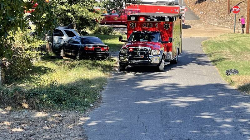 A shooting was reported on Arkansas Street on Monday, Oct. 25, 2021.