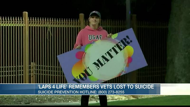 Laps 4 Life draws attention to veterans lost to suicide