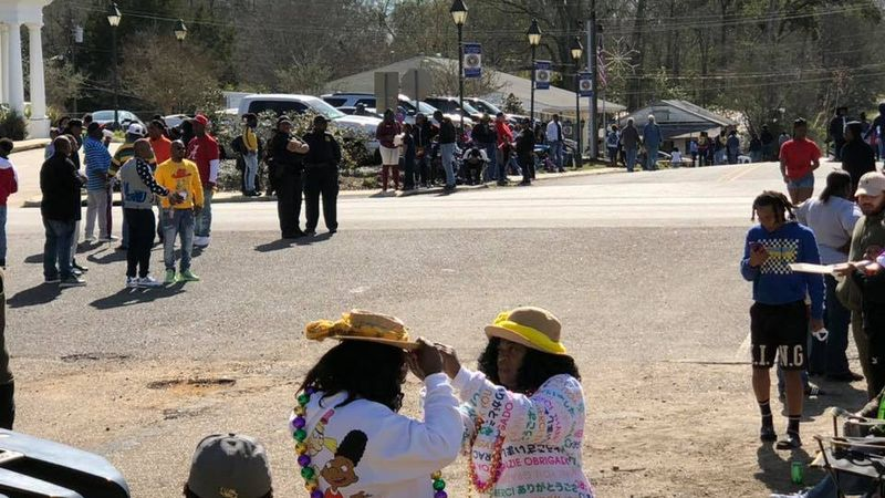 Folks in Clinton celebrated the Mardi Gras season with their 15th annual Family and Friends...