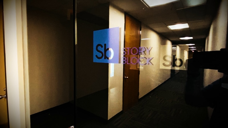 The Story Block Media office located in the Central Business District of New Orleans.