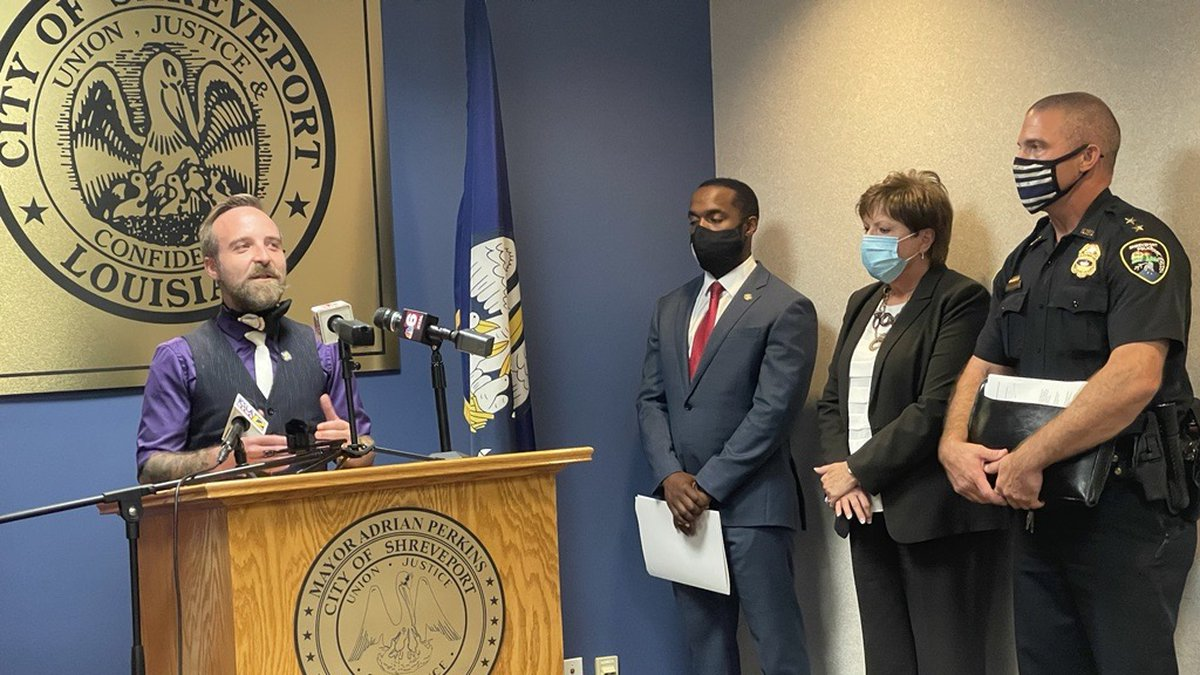 On Monday, Aug. 23, 2021, Shreveport city leaders held their final #SaferShreveport news...