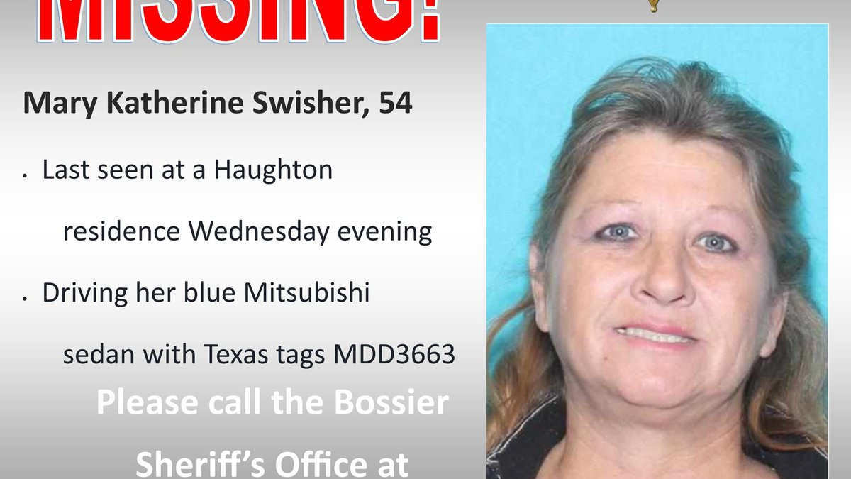 Please call the Bossier's Sheriff's Office