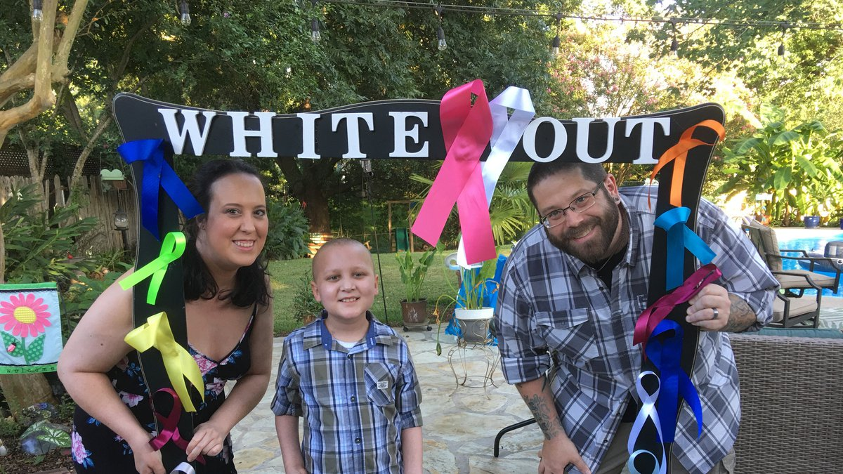 8-year-old cancer survivor Jude Elmore will be honored as one of 10 Champions of Hope during...