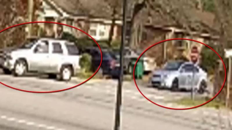 The Cayce Department of Public Safety released images of two vehicles they are hoping the...