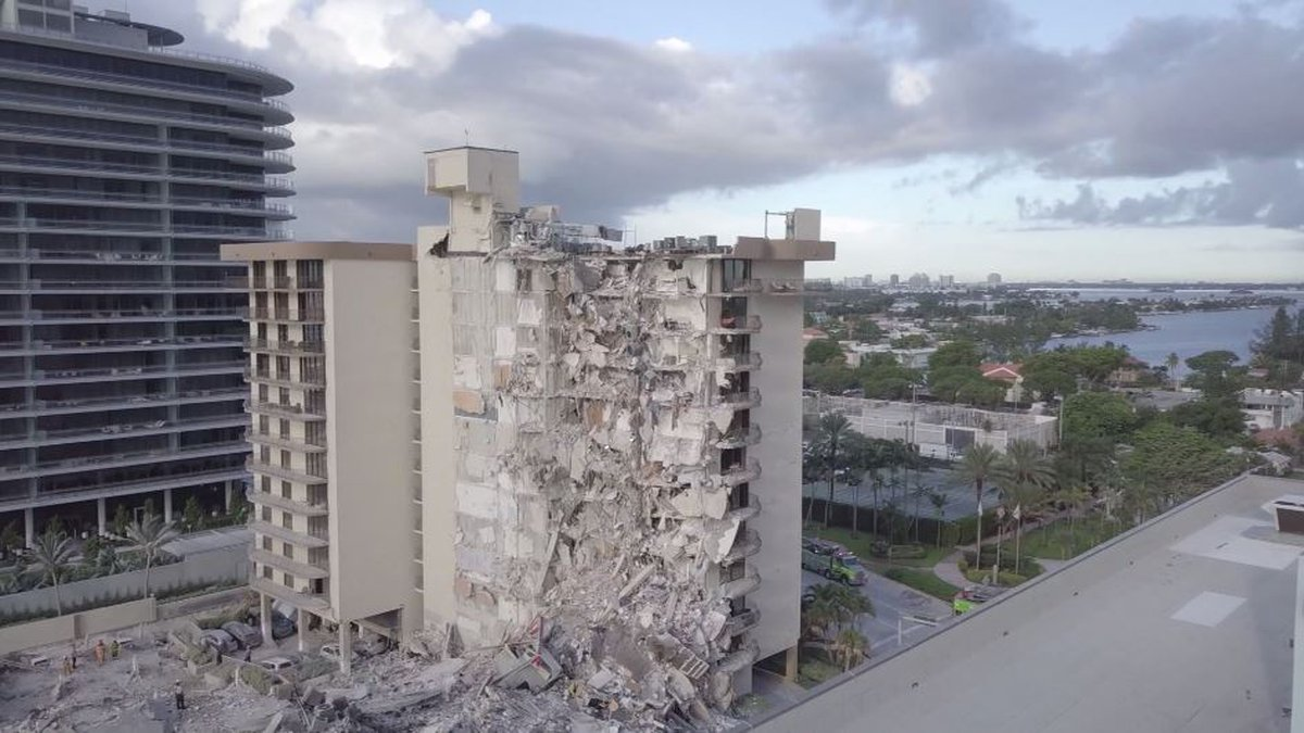 On June 24, 2021, part of the Champlain Towers South condo building in Surfside, Fla. collapsed.