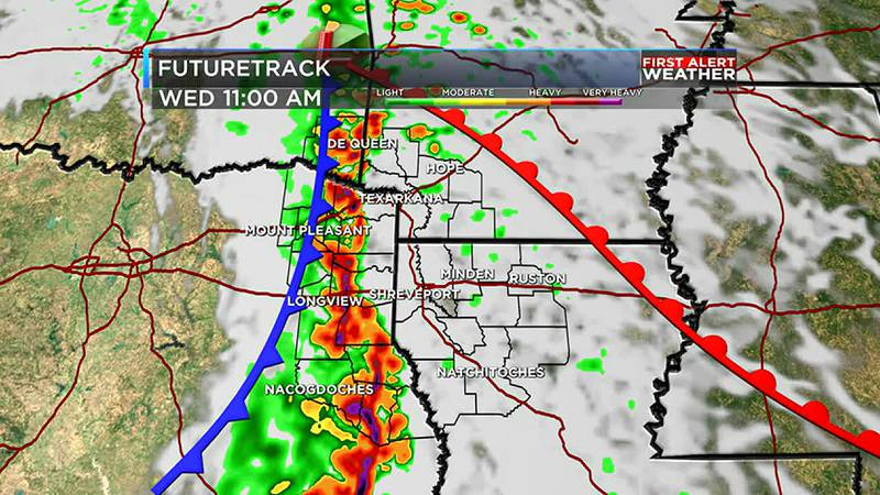 Some storms Wednesday could be severe