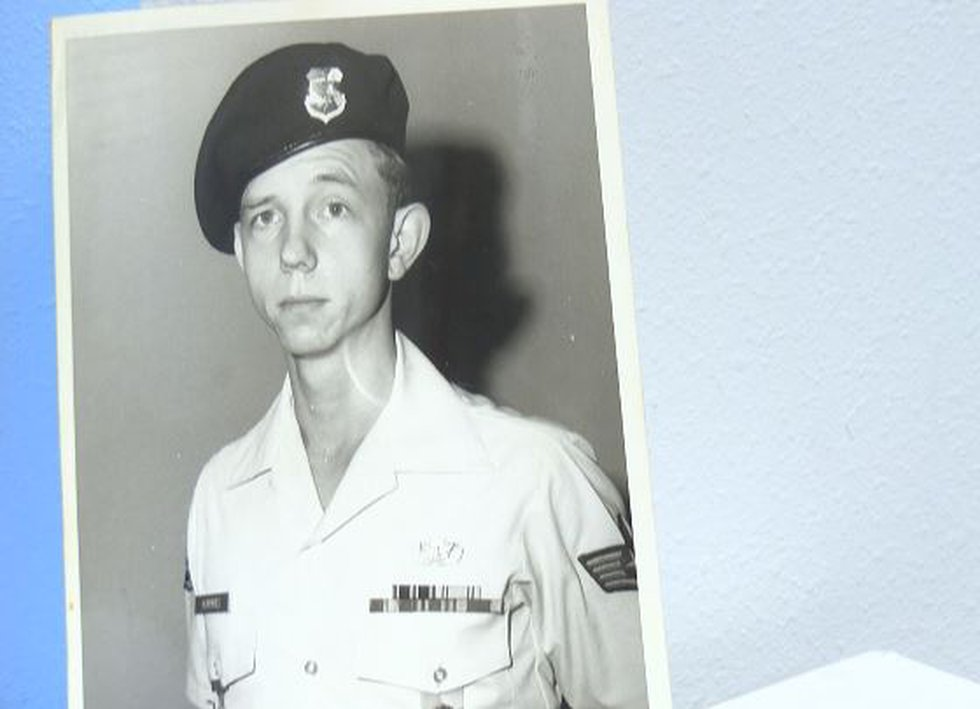 Gary Humphries back in the mid 1970's when he joined the Air Force.