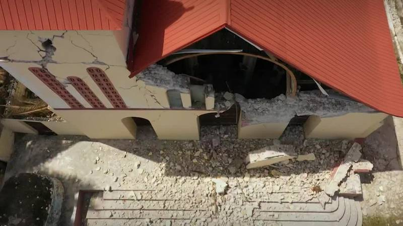 In a remote area of hard-hit Haiti, the central government has yet to send any help after...