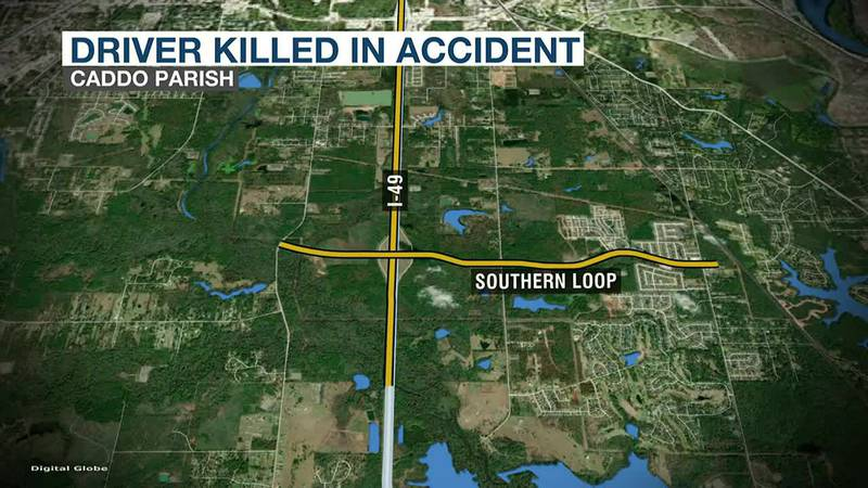 Deadly accident on I-49 at Southbound Loop