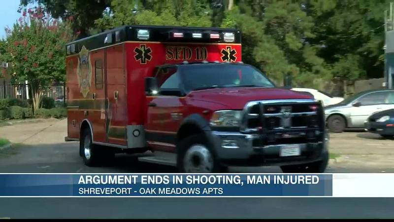 Man shot in the arm when argument turns violent at Oak Meadow Apartments