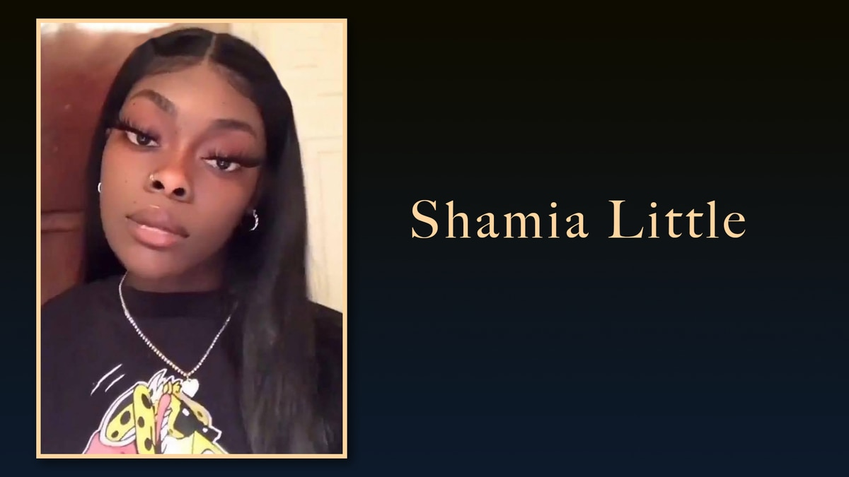 Shamia Little, 17, will be buried Saturday, July 24, 2021.