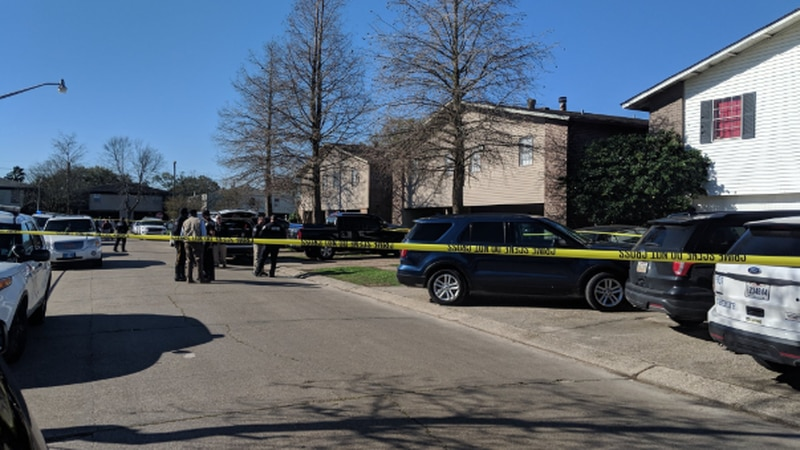 At least one child was involved in a multiple homicide in Terrytown