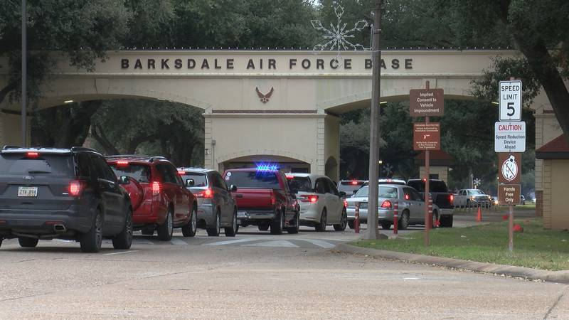 Earlier this year, Barksdale AFB made changes to the West Gate area to increase  security, slow...