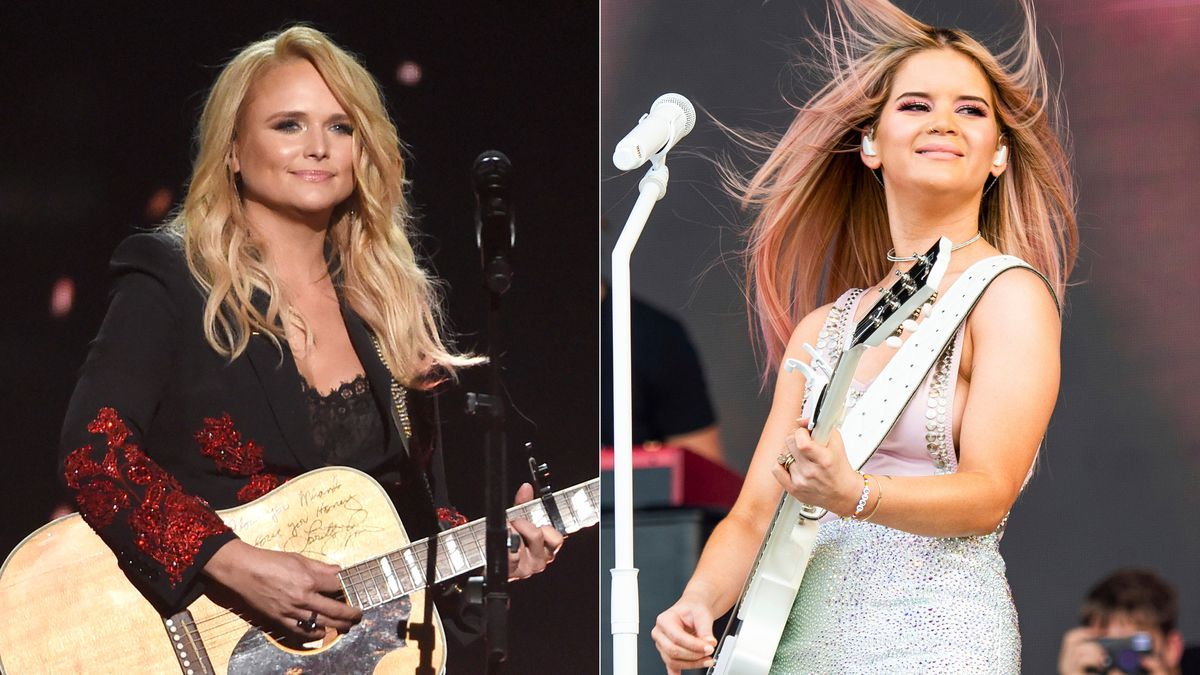 Miranda Lambert performs at the 53rd annual Academy of Country Music Awards in Las Vegas on...