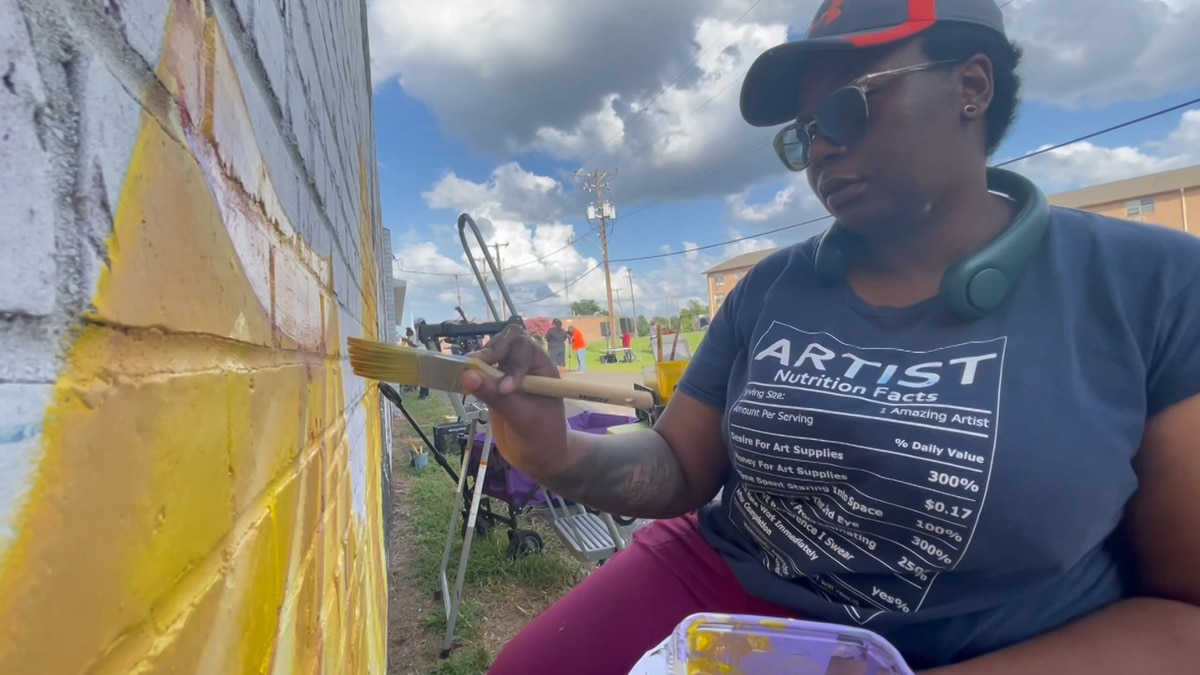 The Commission on Race and Cultural Diversity held a community painting day Thursday, June 24,...