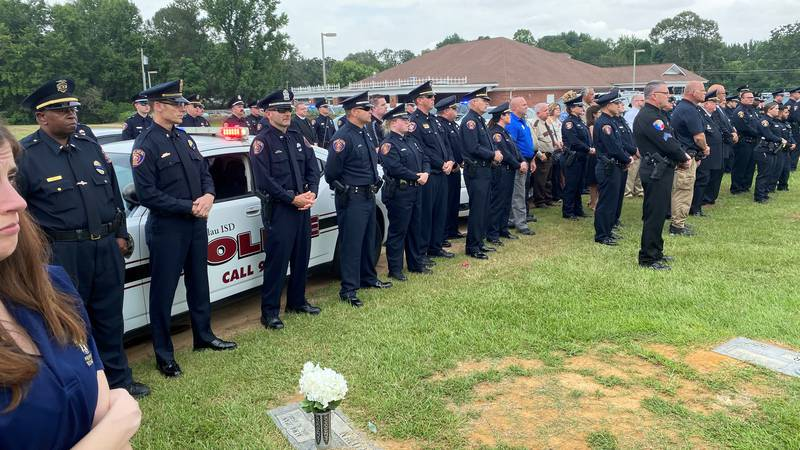 A memorial service was held Monday, Aug. 2, 2021 for Lt. Clay McClure, 54, who died Wednesday,...