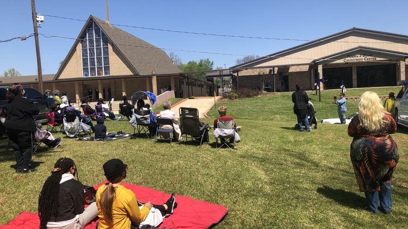 Mt. Canaan Baptist scripture reading