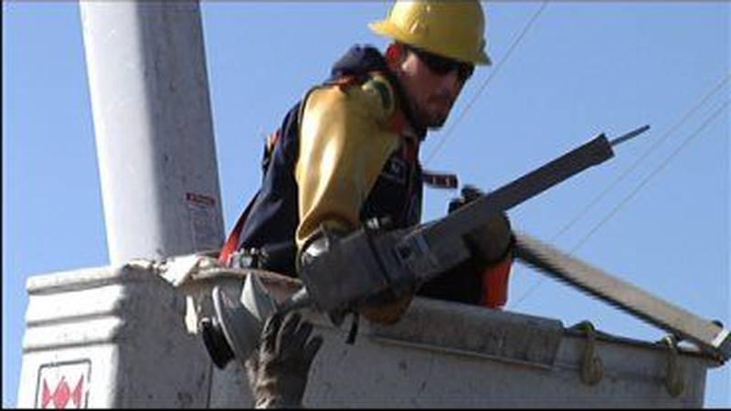 Power companies working to restore power