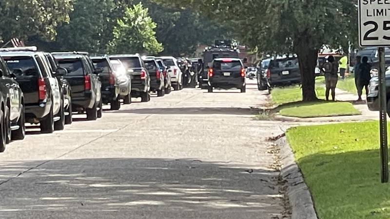 SWAT was called out to a home on Elaine Street in Bossier City, La. on Monday, Oct. 4, 2021.