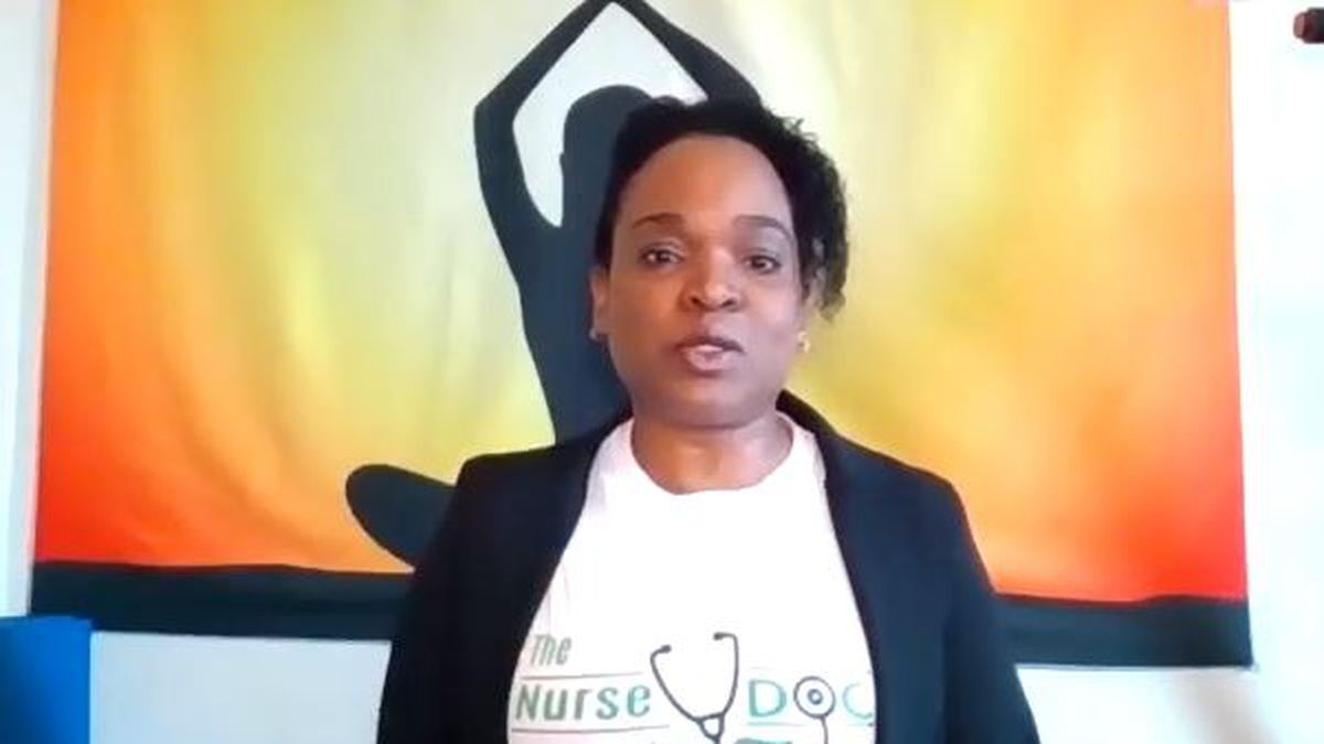 Dr. Latora Grant Scott recounts what happened to her parents and grandparents when they marched...