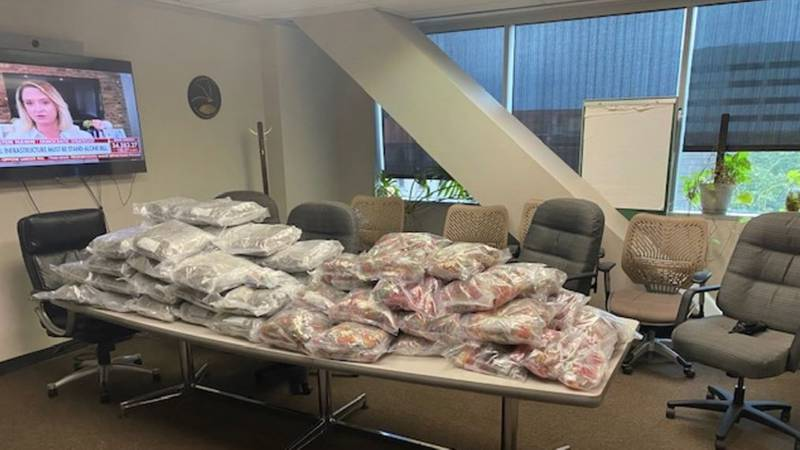 In total, the value of all the items was approximately worth $100,000. (Source: Caddo Parish...