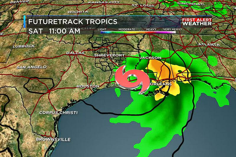 While we still do expect a tropical system in the Gulf of Mexico, impacts for the ArkLaTex...