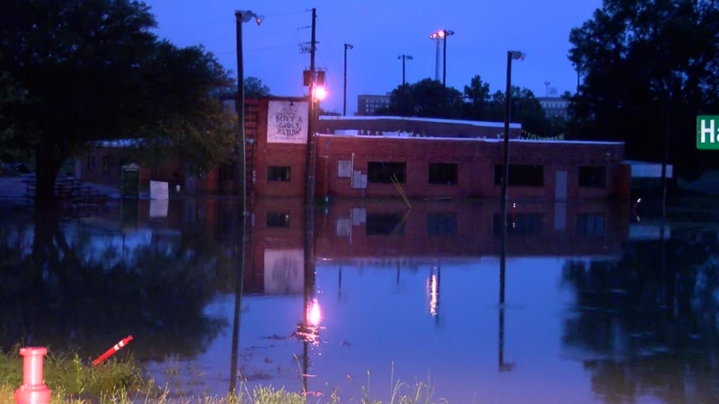Up to three feet of water is being reported following heavy rains in Texarkana.