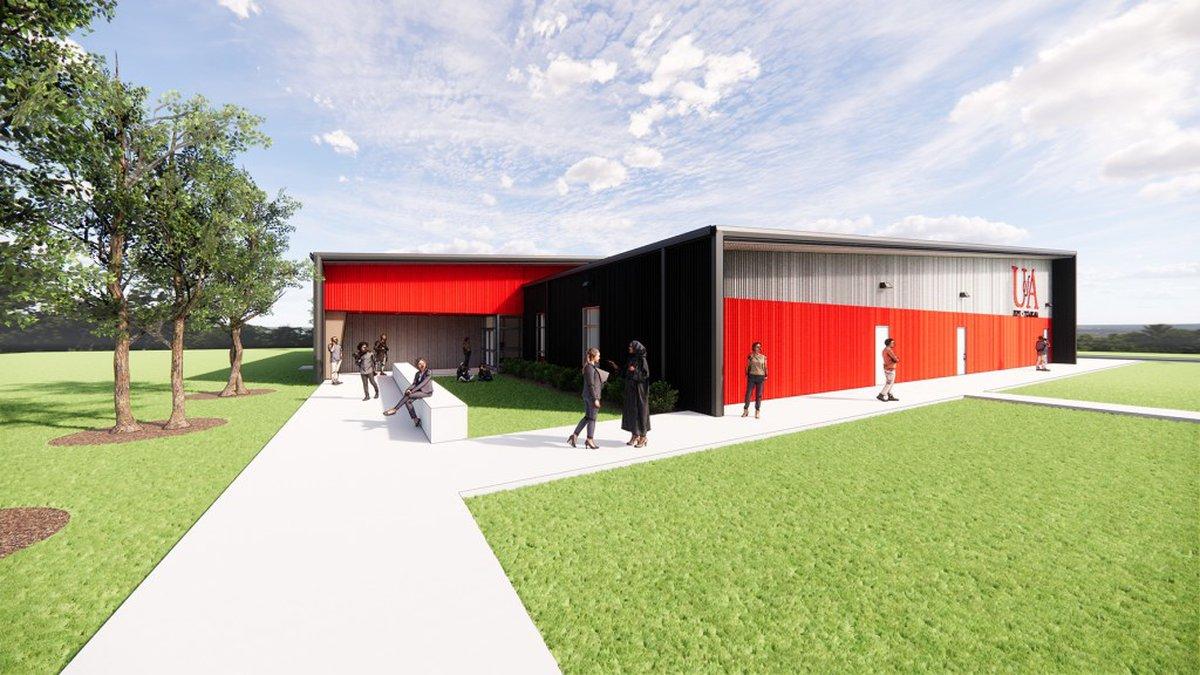 The University of Arkansas Hope-Texarkana broke ground on a new building on its Texarkana...