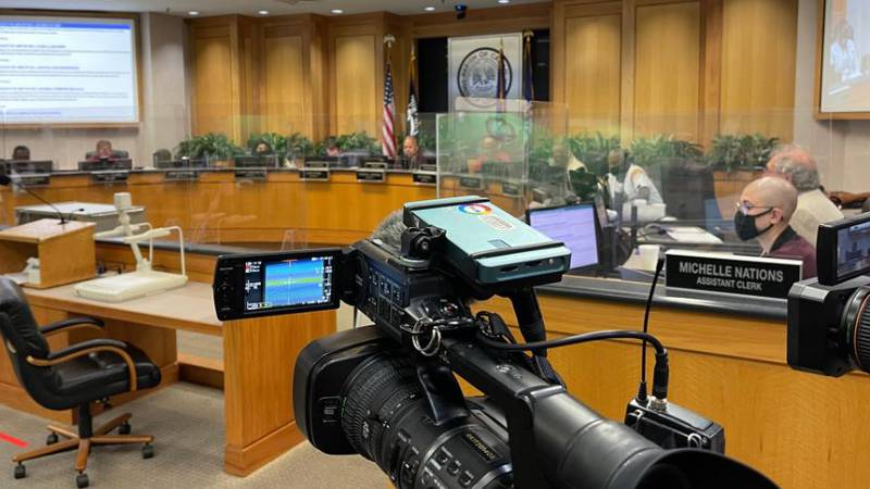 During their work session July 19, Caddo commissioners voted 6-5 to add an ordinance calling...